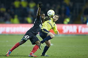 Patrick Da Silva (Br�ndby IF), Izunna Arnest Uzochukwu (FC Midtjylland)