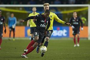 Kolja Afriyie (FC Midtjylland), Simon Makienok Christoffersen (Br�ndby IF)
