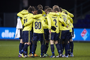 Frederik Holst (Br�ndby IF), Daniel Stenderup (Br�ndby IF), Michael Falkesgaard (Br�ndby IF), Clarence Goodson (Br�ndby IF), Jan Kristiansen (Br�ndby IF), Anders Randrup (Br�ndby IF), Simon Makienok Christoffersen (Br�ndby IF), Jens Larsen (Br�ndby IF), Dennis Rommedahl, anf�rer (Br�ndby IF), Quincy Antipas (Br�ndby IF)