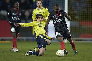 Frederik Holst (Br�ndby IF), Sylvester Igboun (FC Midtjylland)
