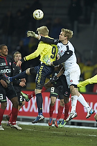 Jonas L�ssl (FC Midtjylland), Simon Makienok Christoffersen (Br�ndby IF)
