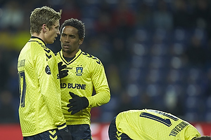 Jens Larsen (Br�ndby IF), Quincy Antipas (Br�ndby IF)