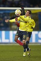 Frederik Holst (Br�ndby IF), Rilwan Olanrewaju Hassan (FC Midtjylland)
