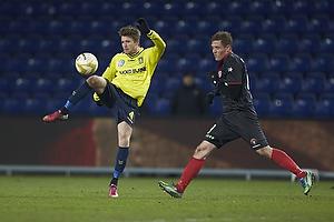 Daniel Stenderup (Br�ndby IF), Morten Rasmussen (FC Midtjylland)