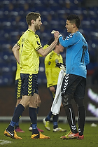 Clarence Goodson (Br�ndby IF), Michael Falkesgaard (Br�ndby IF)