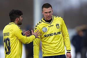 Daniel Norouzi (Br�ndby IF), Brent McGrath (Br�ndby IF)