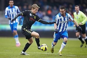 Jens Larsen (Br�ndby IF), Magnus Lekven (Esbjerg fB)