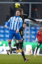 Kenneth Fabricius (Esbjerg fB), Martin Albrechtsen (Br�ndby IF)
