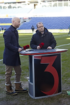 Tommy Sommer H�kansson, adm. direkt�r (Br�ndby IF) i tv-studiet