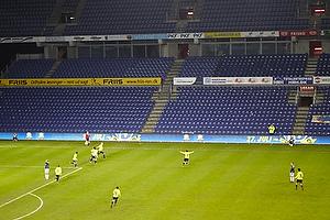 Simon Makienok Christoffersen, m�lscorer (Br�ndby IF) har scoret til 3-2