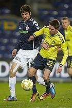 Mathias Gehrt (Br�ndby IF), David Devdariani (Agf)