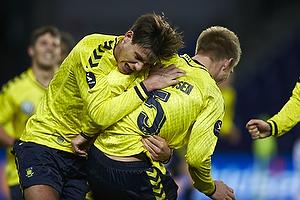 Martin Albrechtsen, m�lscorer (Br�ndby IF), Dario Dumic (Br�ndby IF)