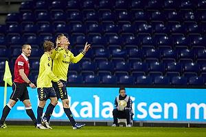 Simon Makienok Christoffersen, m�lscorer (Br�ndby IF), Jens Larsen (Br�ndby IF)