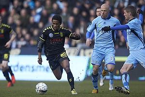 Quincy Antipas (Br�ndby IF), Christian Keller (Randers FC)