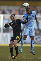 Lorenzo Davids (Randers FC), Mathias Gehrt (Br�ndby IF)