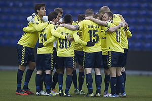 Dario Dumic (Br�ndby IF), Frederik Holst (Br�ndby IF), Quincy Antipas (Br�ndby IF), Mikkel Thygesen (Br�ndby IF), Dennis Rommedahl, anf�rer (Br�ndby IF), Simon Makienok Christoffersen (Br�ndby IF)