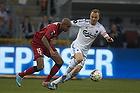 Joshua John (FC Nordsj�lland), Lars Jacobsen, anf�rer (FC K�benhavn)