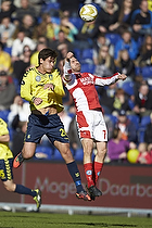 Dario Dumic, anf�rer (Br�ndby IF), Christian Holst (Silkeborg IF)
