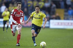 Mathias Gehrt (Br�ndby IF), Jesper Bech (Silkeborg IF)