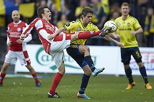 Jesper Bech (Silkeborg IF), Mathias Gehrt (Br�ndby IF)
