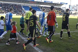 Patrick Da Silva (Br�ndby IF), Michael Falkesgaard (Br�ndby IF), Mikkel Thygesen, anf�rer (Br�ndby IF)