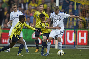 Andreas Cornelius (FC K�benhavn), Frederik Holst (Br�ndby IF), Quincy Antipas (Br�ndby IF)