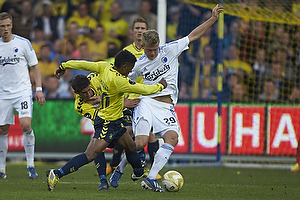 Andreas Cornelius (FC K�benhavn), Quincy Antipas (Br�ndby IF), Frederik Holst (Br�ndby IF)