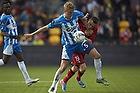 Kasper Larsen (Ob), Mark Gundelach (FC Nordsj�lland)