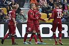 Oguzhan Aynaoglu, m�lscorer (FC Nordsj�lland), Nicolai Johannesen (FC Nordsj�lland), Pacal Gregor (FC Nordsj�lland), Lasse Petry (FC Nordsj�lland)