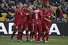 Oguzhan Aynaoglu, m�lscorer (FC Nordsj�lland), Nicolai Johannesen (FC Nordsj�lland), Patrick Mtiliga (FC Nordsj�lland), Nikolaj Stokholm, anf�rer (FC Nordsj�lland)