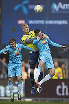Simon Makienok Christoffersen (Br�ndby IF), Mario Ticinovic (FC Nordsj�lland), Pacal Gregor (FC Nordsj�lland)