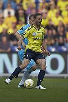 Dennis Rommedahl, anf�rer (Br�ndby IF), Nikolaj Stokholm, anf�rer (FC Nordsj�lland)