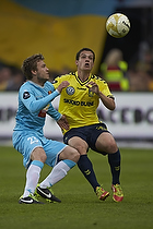 Mario Ticinovic (FC Nordsj�lland), Patrick Da Silva (Br�ndby IF)