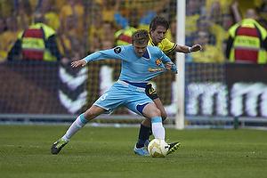 Mario Ticinovic (FC Nordsj�lland), Mathias Gehrt (Br�ndby IF)