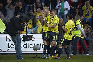 Simon Makienok Christoffersen, m�lscorer (Br�ndby IF), Mikkel Thygesen (Br�ndby IF), Patrick Da Silva (Br�ndby IF)
