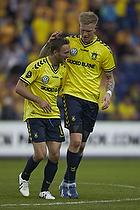 Dennis Rommedahl, anf�rer (Br�ndby IF), Simon Makienok Christoffersen (Br�ndby IF)