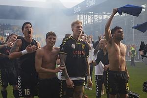Michael Falkesgaard (Br�ndby IF), Jens Larsen (Br�ndby IF), Simon Makienok Christoffersen (Br�ndby IF), Daniel Norouzi (Br�ndby IF)