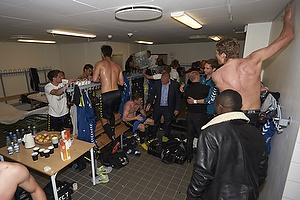 Jan Kristiansen (Br�ndby IF), Dario Dumic (Br�ndby IF), Mikkel Thygesen (Br�ndby IF), Jens Larsen (Br�ndby IF)