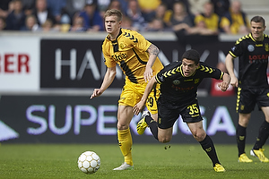 Andr� Bjerregaard (AC Horsens), Patrick Da Silva (Br�ndby IF)