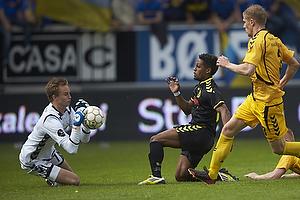 Frederik R�nnow (AC Horsens), Quincy Antipas (Br�ndby IF), Morten Rasmussen (AC Horsens)