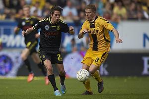 Mathias Gehrt (Br�ndby IF), Morten Rasmussen (AC Horsens)