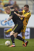 Simon Makienok Christoffersen (Br�ndby IF), Janus Mats Drachmann (AC Horsens)