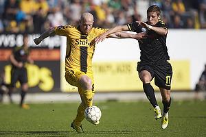 Ken Fagerberg (AC Horsens), Jens Larsen (Br�ndby IF)