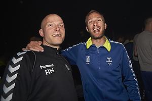 Dennis Rommedahl, anf�rer (Br�ndby IF), Rasmus Borgstr�m Henriksen, fysioterapeut (Br�ndby IF)
