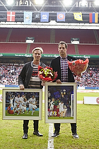 Christian Poulsen (Danmark), Jim Stjerne Hansen (DBU), Thomas S�rensen (Danmark)