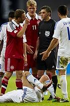 Dennis Rommedahl (Danmark), Gevorg Ghazaryan (Armenien), Andreas Cornelius (Danmark)
