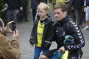 Br�ndbyfan med Jens Larsen (Br�ndby IF)