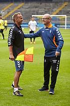 Ahron Thode, fysisktr�ner (Br�ndby IF), Per Rud, sportschef (Br�ndby IF)