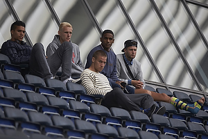 Daniel Stenderup (Br�ndby IF), Quincy Antipas (Br�ndby IF), Martin Bernburg (Br�ndby IF), Michael Falkesgaard (Br�ndby IF)
