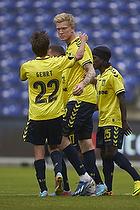 Mathias Gehrt (Br�ndby IF), Simon Makienok Christoffersen (Br�ndby IF), Kristian Andersen (Br�ndby IF)